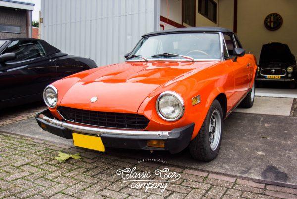 FIAT 124 SPORT SPIDER 1800 US 1975